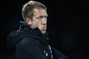 Graham Potter will no doubt have to face questions regarding balloons in Tenerife ahead of Sheffield United