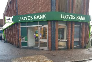 Lloyds Bank in Haywards Heath