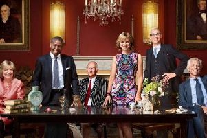 Fiona Bruce and the Antiques Roadshow team of experts