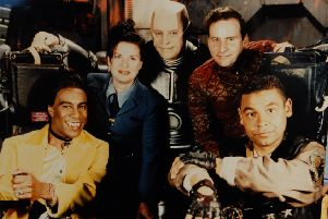 ET library. Red Dwarf TV show