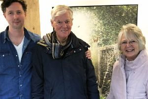 """Mark, Michael and Anne-Marie. """"Running the marathon was for both of them"""" said Mark."""