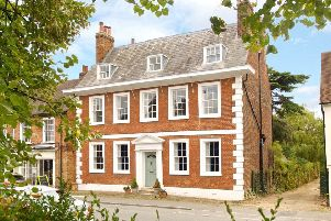 Elegant £1.75m six bedroom townhouse is in one of Brtiain's nicest villages