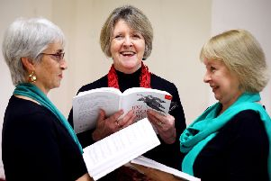 New Voices from left Kim Gutteridge, Jan May and Anne Wright