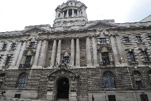 Andy Hill is standing trial at the Old Bailey
