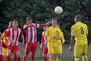 Langford v Harefield. Picture: Geoff Phillips.