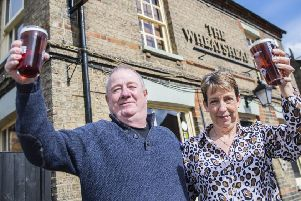 Raise a glass to duo behind Biggleswade pub's success