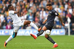 Cole Kpekawa, right, in action for Barnsley in the Championship