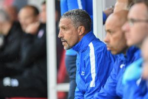 Brighton & Hove Albion manager Chris Hughton. Picture by PW Sporting Pics