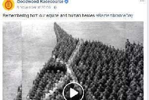 The post on Goodwood's Facebook page