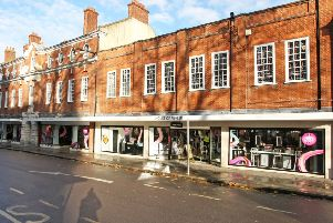 House of Fraser has been in Chichester since 1976, formerly known as Army & Navy. Photo by Derek Martin DM16152985a