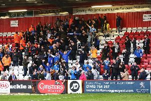 Pompey fans sung well past the final whistle in the previous trip to Stevanage in March 2017.