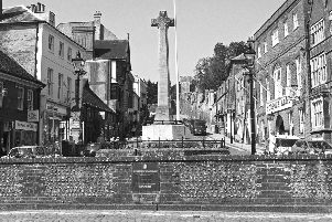 Arundel War Memorial as it is today