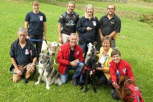 High Sheriff of West Sussex Caroline Nichols visited the team at Service Dogs UK