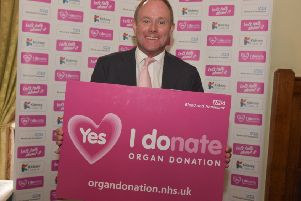 Arundel & South Downs MP Nick Herbert has backed calls for a change in the law surrounding organ donations. Picture: BRD Associates