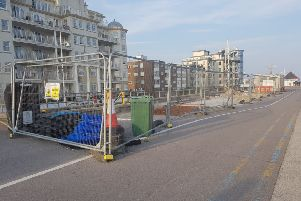 The site of the new toilets on Bognor Regis seafront