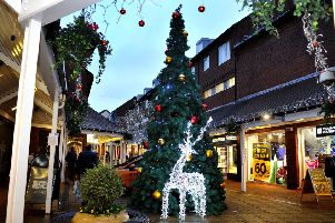 Christmas lights switch ons in Arundel, Bognor Regis, Chichester, Crawley, East Grinstead, Hassocks, Haywards Heath, Littlehampton, Midhurst, Petworth, Shoreham, Storrington and Worthing
