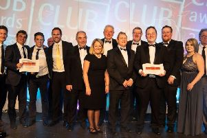 The Goodwood team at the Club Mirror awards