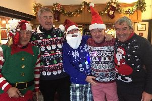 Festive jumpers aplenty at Bognor Golf Club