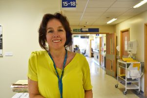 Marianne Griffiths has been shortlisted for the Health Service Journal chief executive of the year award SUS-160920-092234001