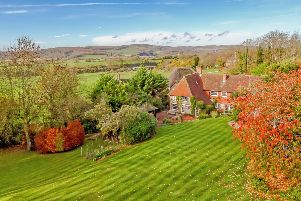 This stunning home has beautiful views across the Arun Valley