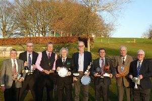 Prizewinners among the Cowdray Park seniors
