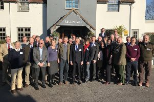 The Arun Valley Vision Group at the launch in January 2017