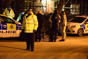 Police incident in Hailsham. Photo by Dan Jessup