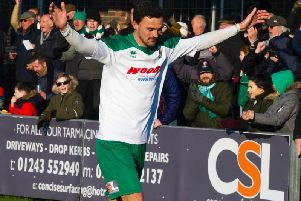 Jimmy Muitt's goals have been - and will continue to be - key to whether the Rocks make the play-offs / Picture by Tommy McMillan