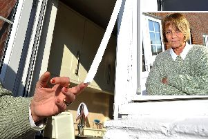 Elizabeth Ferrie has had enough of the problems with her back door