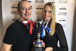 Lotus Styling owners Daren and Kate Terry have donated the Lotus Styling Charity Cup to Chestnut Tree House's charity match