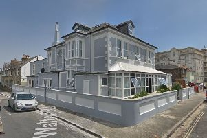 St Joseph's in Albert Road, Bognor Regis, used by Butlin's for staff accommodation (photo from Google Maps Street View)