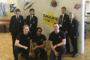 Smashed Workshop with year 8