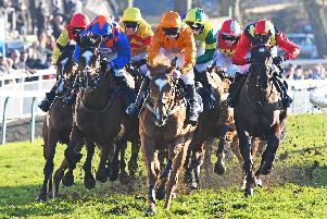 Action from last Sunday's racing at Fontwell / Picture by Malcolm Wells
