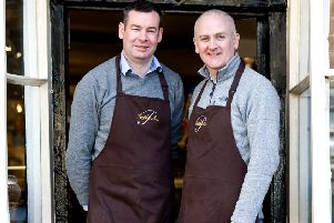 Pallant of Arundel owners Mark Robinson and Jonathan Brantigan