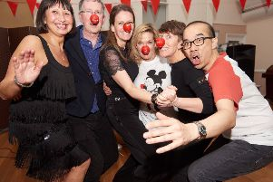 Comic Relief event in Brighton SUS-191103-140713001