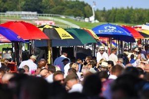 They're hoping for sunshine and large crowds at Goodwood / Picture by Malcolm Wells