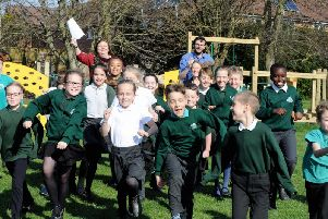 Staff and pupils at Bersted Green Primary School delighted with their Ofsted rating