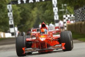 F1 cars driven by Michael Schumacher at FoS F1 cars driven by Michael Schumacher at FoS