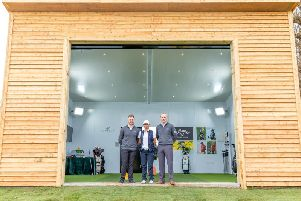 The new studio - and the team who run it - at Cowdray Park