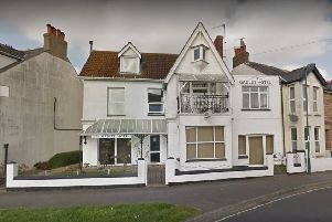The Gables Hotel site in Crescent Road, Bognor Regis (photo from Google Maps Street View).
