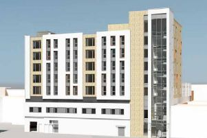 Revised designs for a block of student flats above Wilko in Bognor Regis.