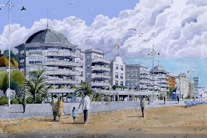 Artist's impression of the Sir Richard Hotham project's vision for the regeneration of Bognor Regis
