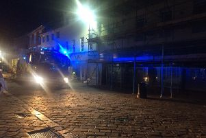 Fire in central Chichester