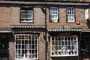 The shop front in North Street