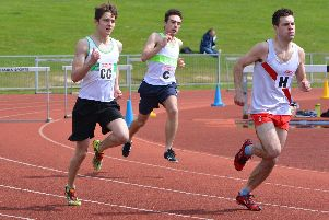 Chichester Runners in action at Basingstoke in the 2019 Southern League opener / Picture by Lee Hollyer