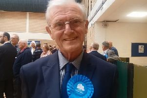 Terry Chapman, councillor for East Preston