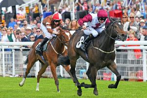 Shani and PJ McDonald on the way to victory / Picture by Malcolm Wells