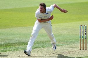 Ollie Robinson in fine form at Lord's / Picture by Getty Images