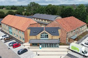 The hospice's new home in Bosham. Photo by  Ritchie Southerton Photography