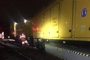 Southern trains into London Victoria have been affected due to the train. Picture: Southern